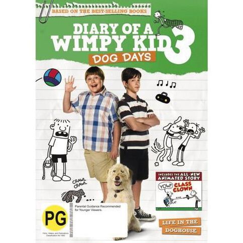 Diary Of A Wimpy Kid 3 Dog Days DVD 1Disc