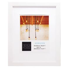 Design House Frame Horizon White 40cm x 50cm Matt 11in x 14in