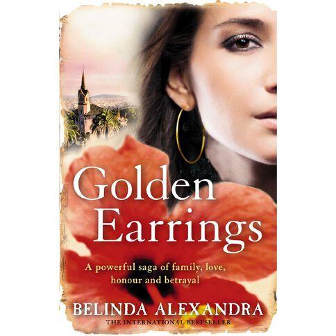 Golden Earrings by Belinda Alexandra