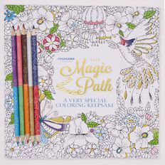 As Seen On TV Magic Path Colorama Colouring Book