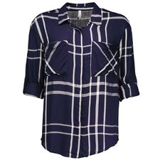 Maya 3/4 Sleeve Check Shirt