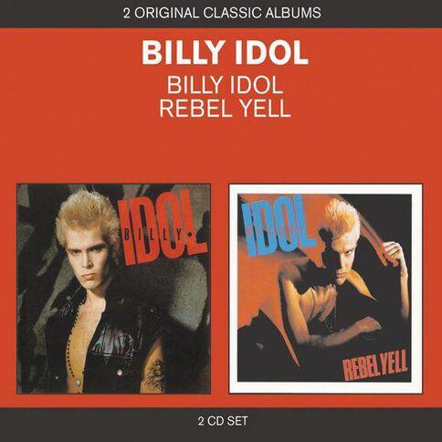 2 for 1 Billy Idol/Rebel Yell CD by Billy Idol 2Disc