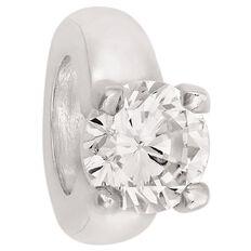 Ane Si Dora Sterling Silver CZ Ring Charm