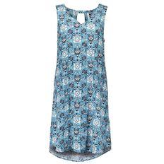 Maya V-Neck Keyhole Dress