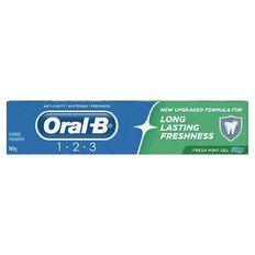 Oral-B 123 Toothpaste Gel 160g