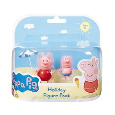 Peppa Pig Holiday Figures Twin Pack Assorted