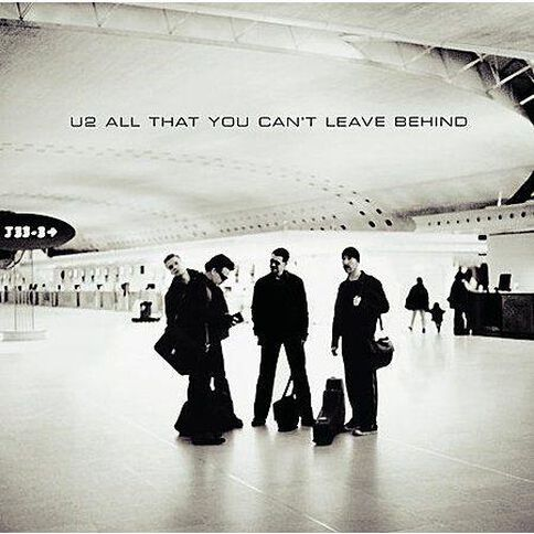 All That you Cant Leave CD by U2 1Disc