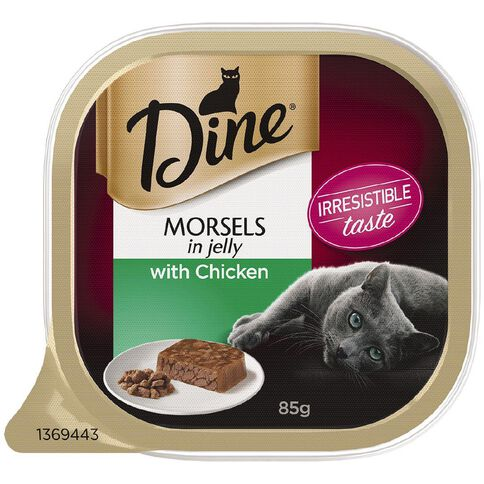 Dine Morsels In Jelly With Chicken 85g
