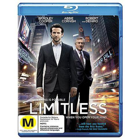 Limitless FKA The Dark Fields Blu-ray 1Disc