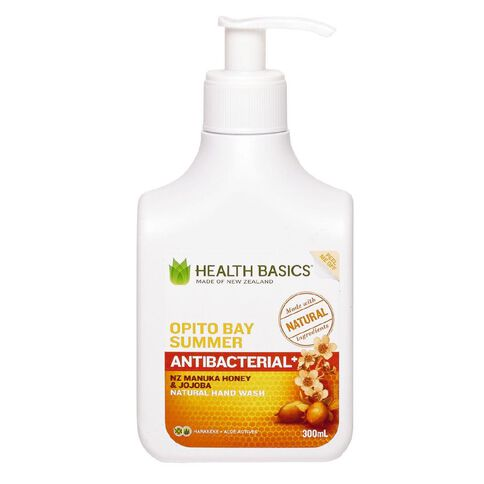 Health Basics Honey & Jojoba Hand Wash Opito Bay Summer 300ml