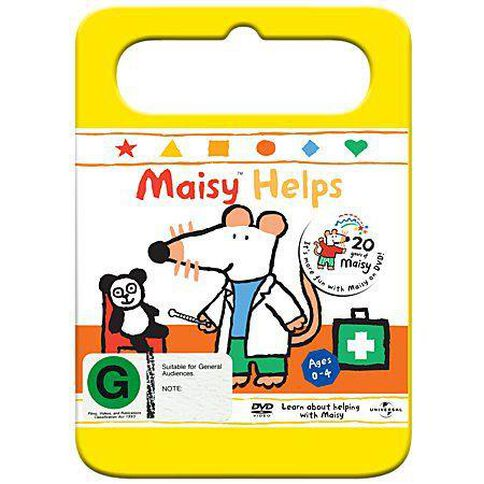 Maisy Helps Vol 2 Yellow Handle Packaging DVD 1Disc