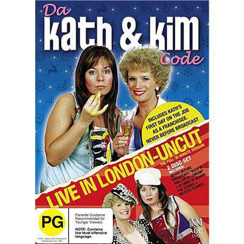 Da Kath & Kim Code / Live in London DVD 2Disc
