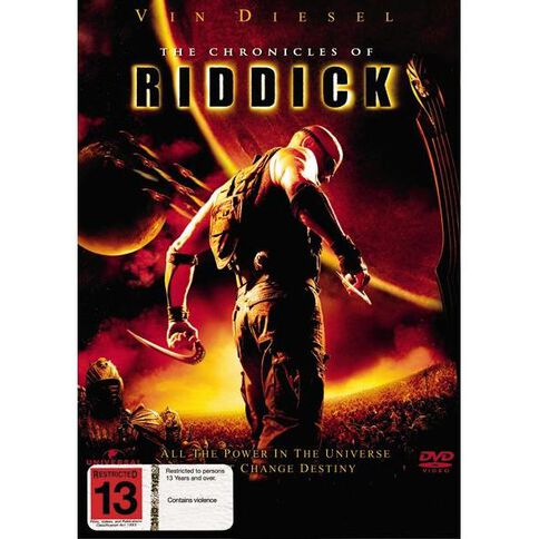 Chronicles Of Riddick DVD 1Disc