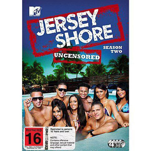 Jersey Shore Season 2 DVD 4Disc