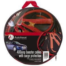 Autohaus Booster Cables with Surge Protection 400amp