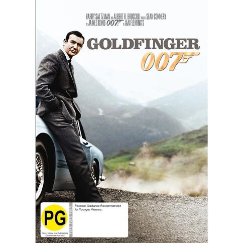 Goldfinger 2012 Version DVD 1Disc