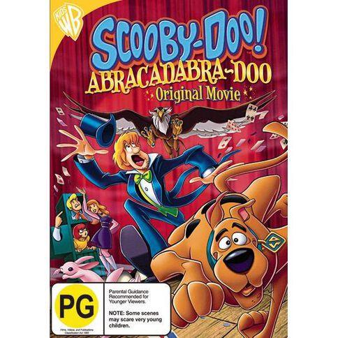 Scooby Doo Abracadabra Doo Mfv DVD 1Disc