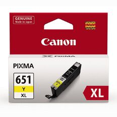 Canon CLI651XL Ink Cartridge Yellow