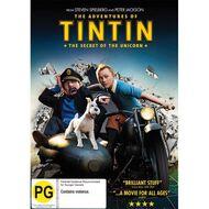 Adventures of Tintin Secret Of The Unicorn DVD 1Disc