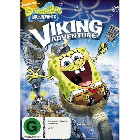 Spongebobsquarepants Viking Adventure DVD 1Disc