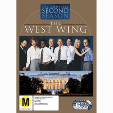 The West Wing Season 2 DVD 6Disc