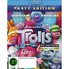 Trolls Blu-ray 1Disc