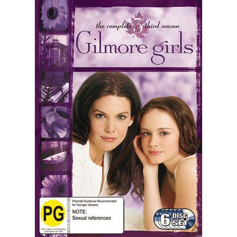 Gilmore Girls Season 3 DVD 6Disc