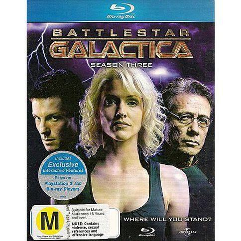 Battlestar Galactica Season 3 Blu-ray 1Disc