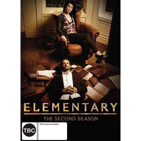 Elementary Season 2 DVD 6Disc