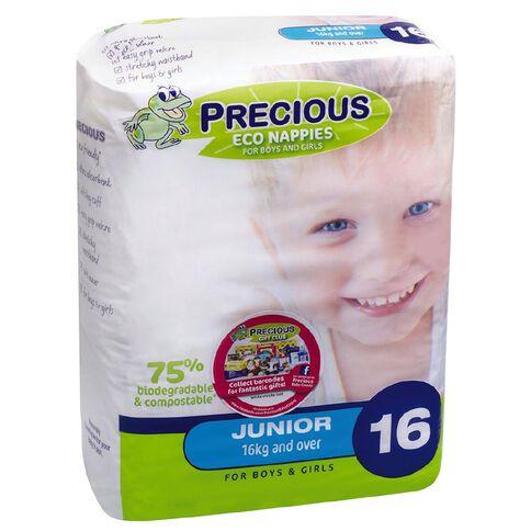 Precious Eco Nappies Junior 16 Pack