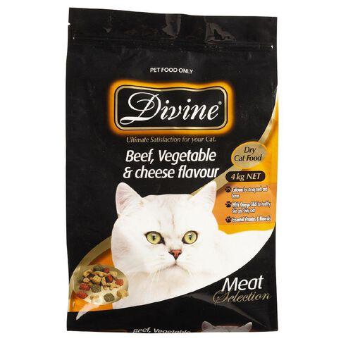 Divine Cat Beef Veg & Cheese 4kg