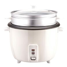 Living & Co Rice Cooker with Steamer 10 Cup