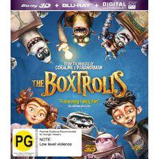 The Boxtrolls 3D Blu-ray 1Disc