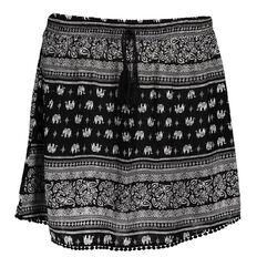 Garage All Over Print Mini Skirt
