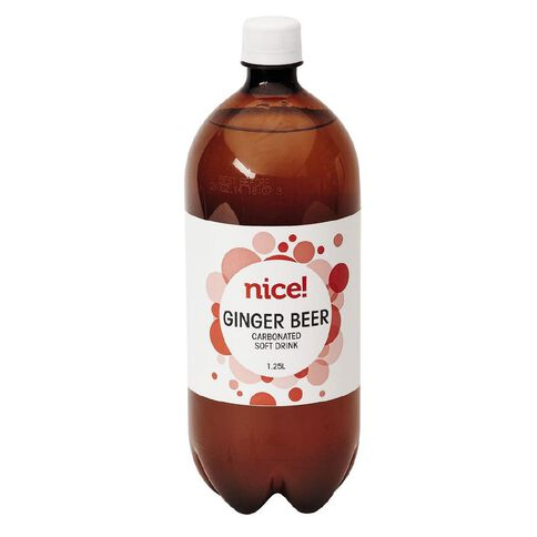 Nice Ginger Beer Carbonated Beverage 1.25L