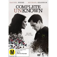 Complete Unknown DVD 1Disc