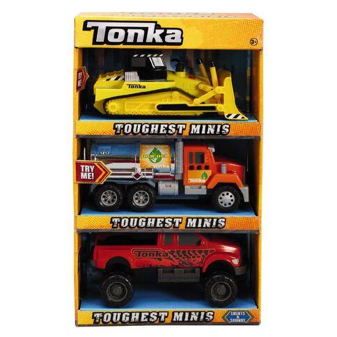Tonka Toughest Minis Assorted 3 Pack