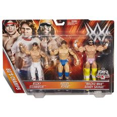 WWE Triple Threat 3 Pack Assorted
