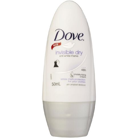 Dove Roll On Deodorant Invisible Dry 50ml