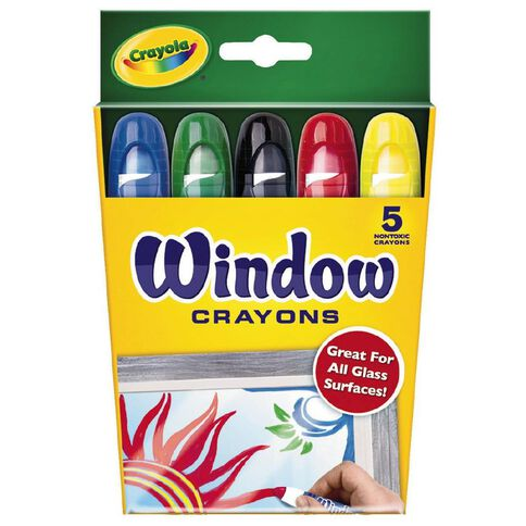 Crayola Window Crayons 5 Pack