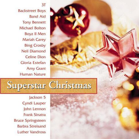 Superstar Christmas CD by Various Artists 1Disc