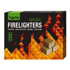 Tiger Tim  Wooden Firelighters 32s