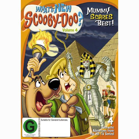 Scooby Doo Whats New Scooby Doo Volume 4 DVD 1Disc