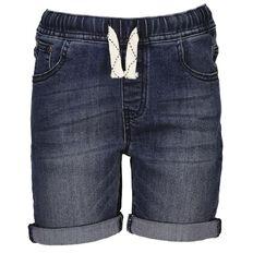 Young Original Boys' Elasticated Waist Denim Shorts