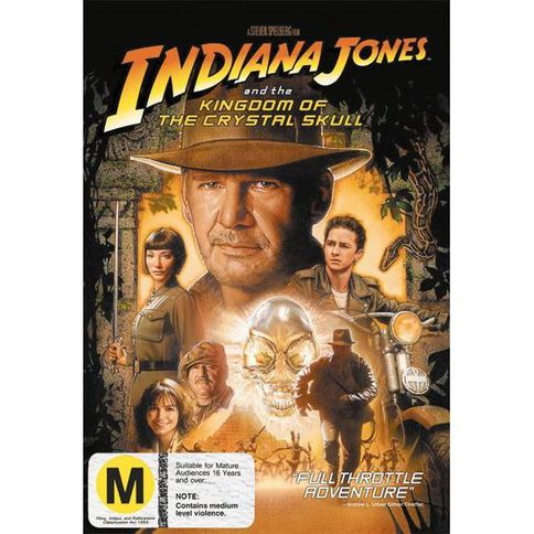 Indiana Jones And The Kingdom Of The Crystal Skull DVD 1Disc