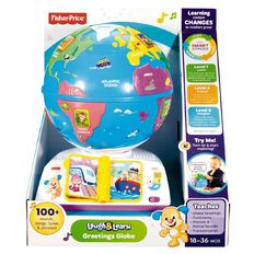 Fisher-Price Laugh & Learn Smart Stages Greetings Globe