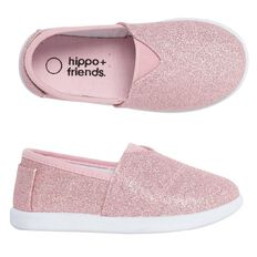 Hippo + Friends Kids' Fashion Gusset Slip-On Shoes