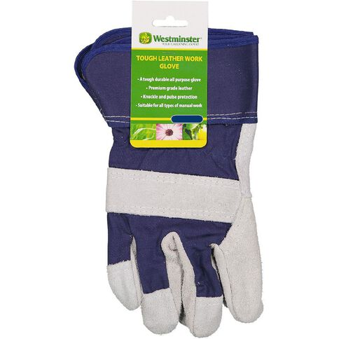 Westminster Tough Leather Work Glove  Large