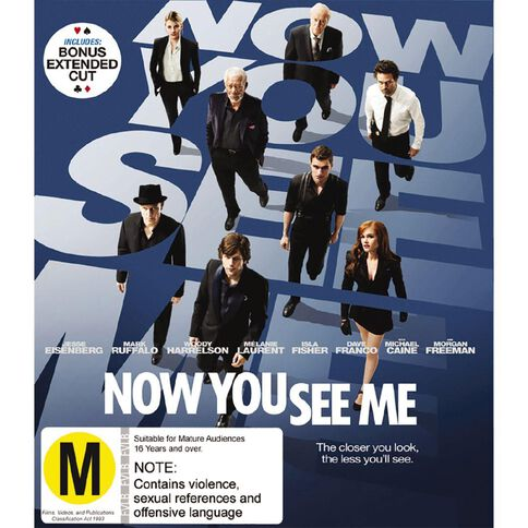 Now You See Me Blu-ray 1Disc