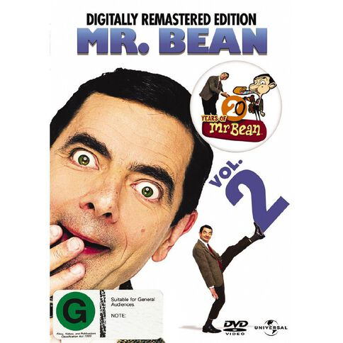 Mr Bean Volume 2 DVD 1Disc